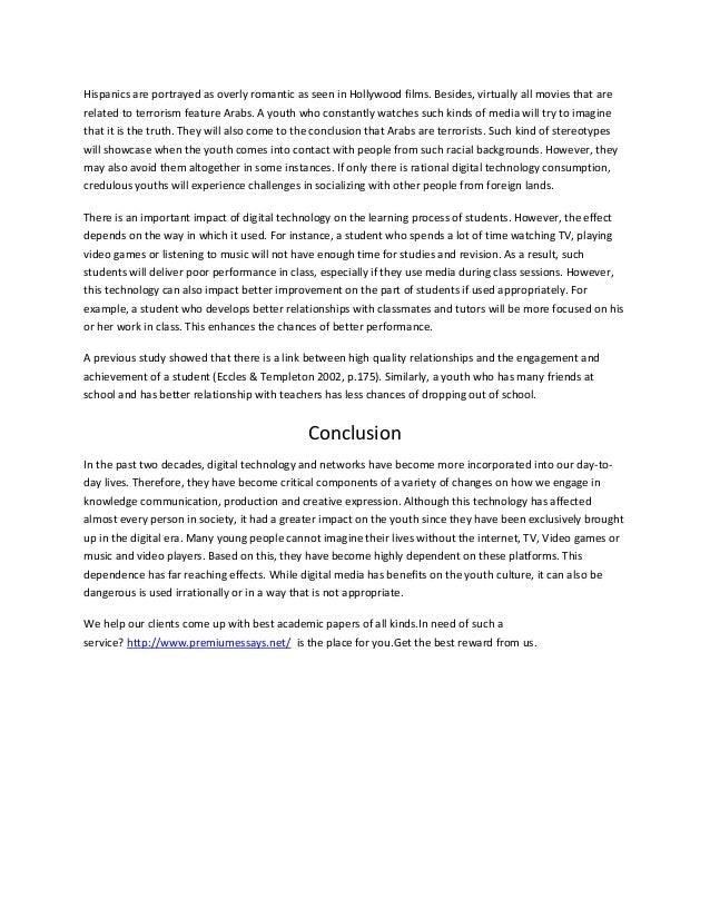 Technology Essay Sample