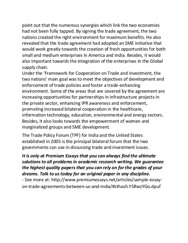 agreement essay I agreement- the parties must agree on the terms of the contract and manifest to each other their mutual assent to the same bargain evidenced by an offer.
