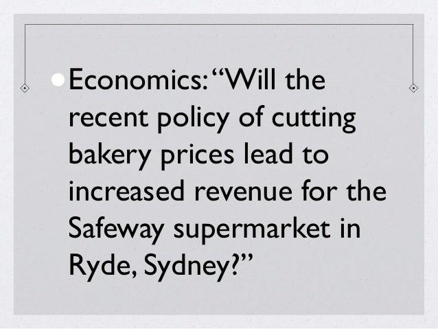 Extended essay economics