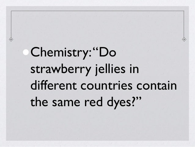 Chemistry Extended Essay EXTREMELY need of help?