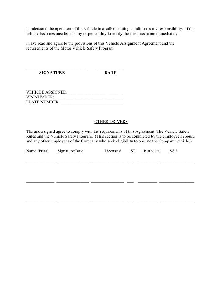 Sample fleet safety program for Operating costs of a motor vehicle answer key