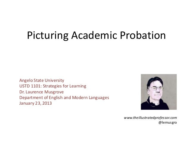 Picturing Academic Probation