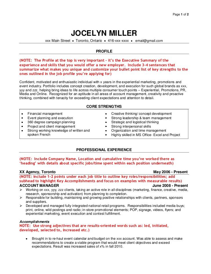 sales job resume examples