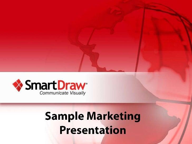SmartDraw's Sample Marketing Plan