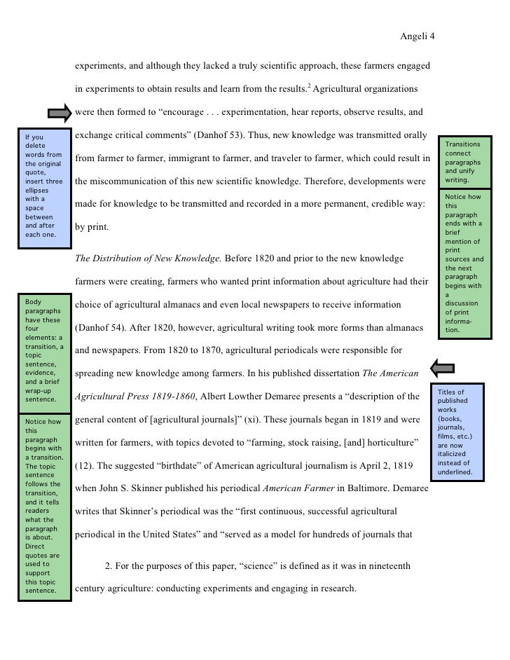 how to write an annotated bibliography purdue owl