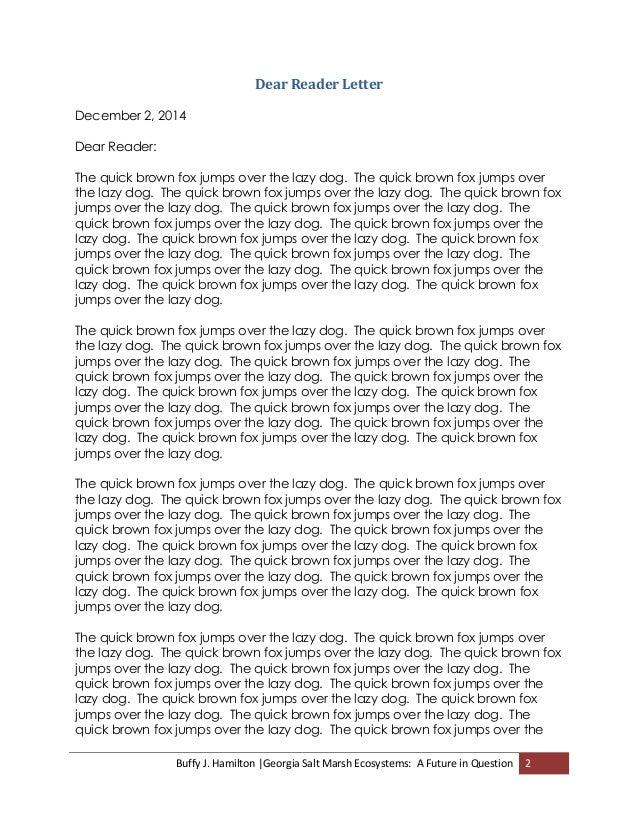 genre cover letter