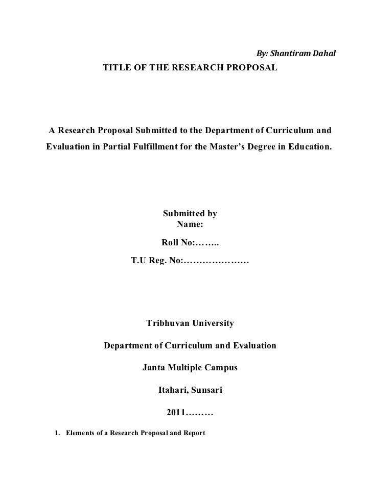 Thesis research proposal literature review sample