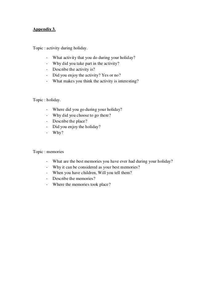holiday essay sample