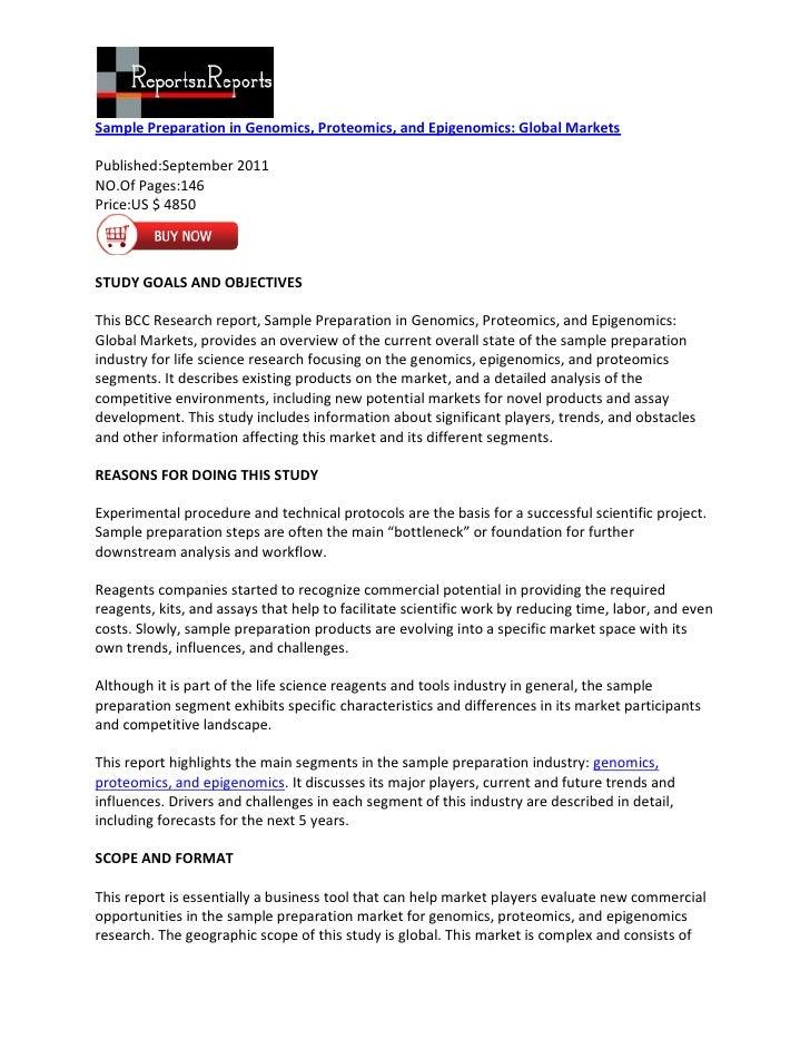 Sample preparation in genomics, proteomics, and epigenomics  global markets