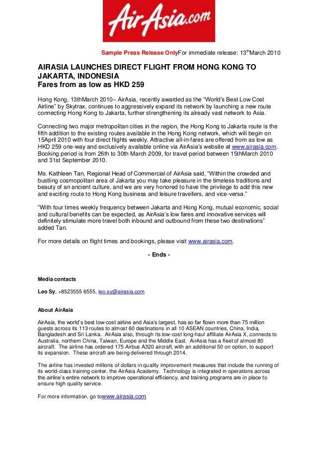Sample press release tvsputnik sample press release altavistaventures Image collections
