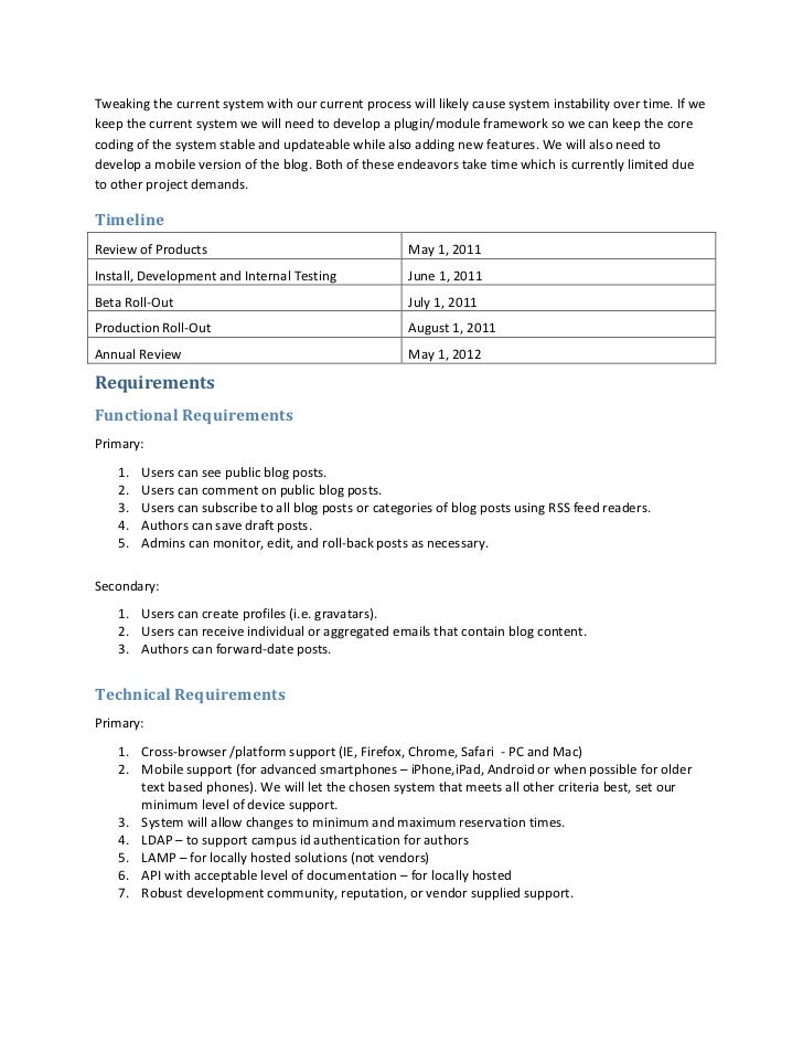 sample project requirements document  u2013 library blog