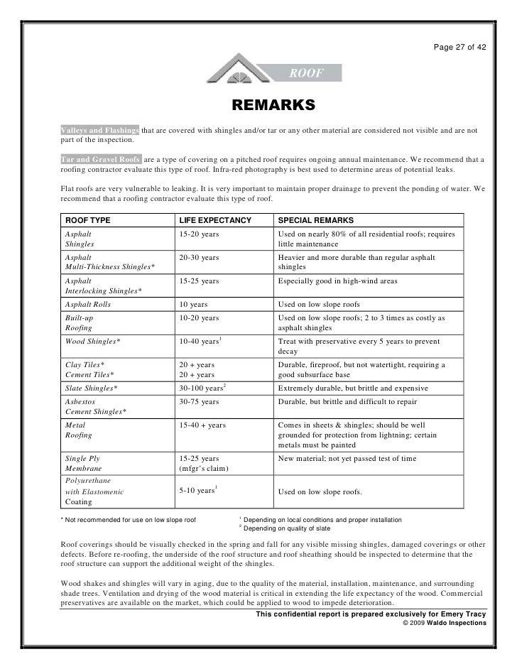 Sample Report Denver Home Inspection Waldo Home Inspection