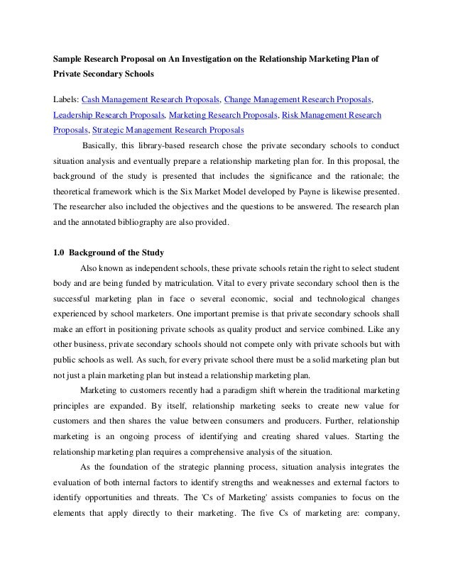 research paper proposal on privatization of education Review the following sample research proposals education: the effect of conceptual change and literacy strategies on students in high school science classes.