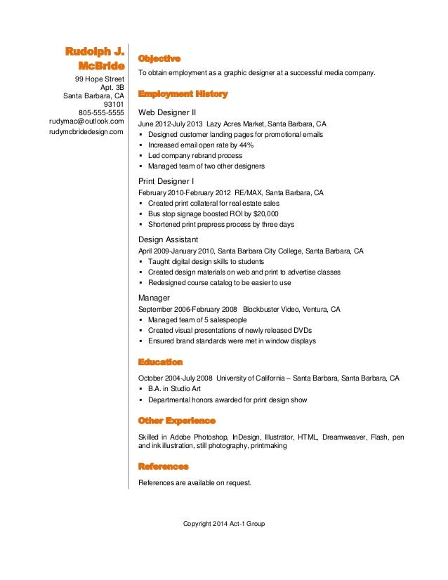 Resume writing services san francisco