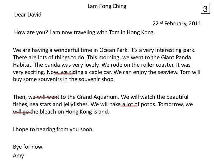 Lam Fong Ching                                                                                3Dear David                 ...