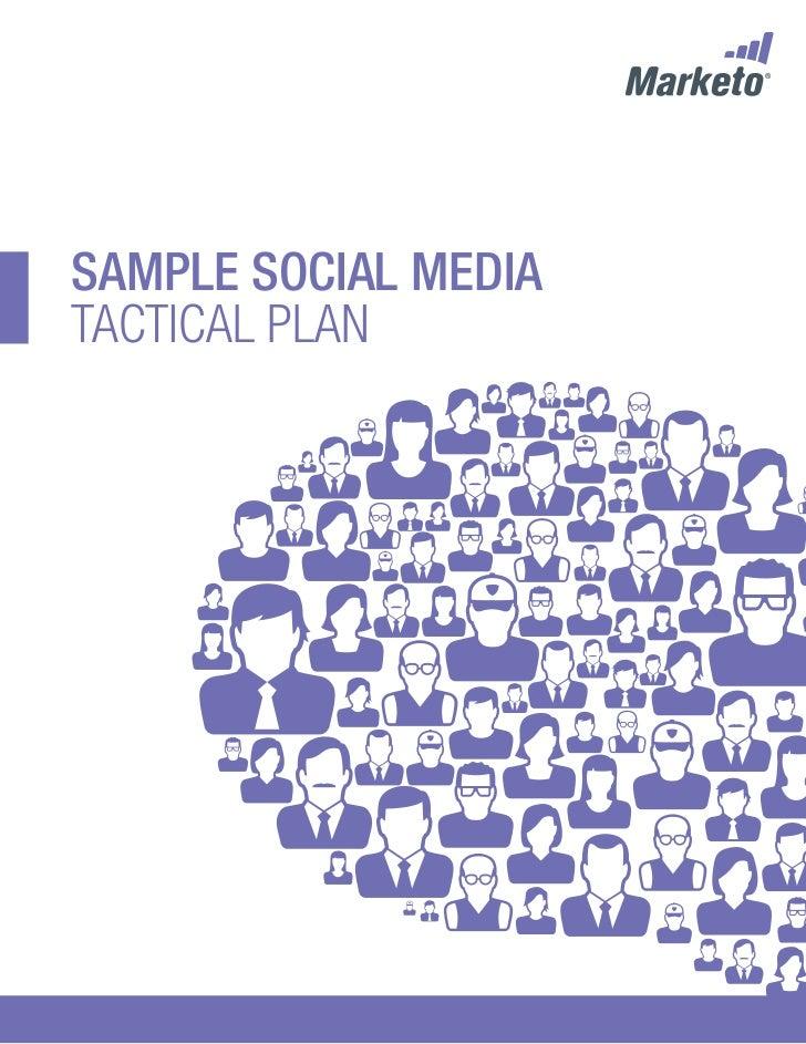 Social Media Tactical Plan by Marketo, Inc