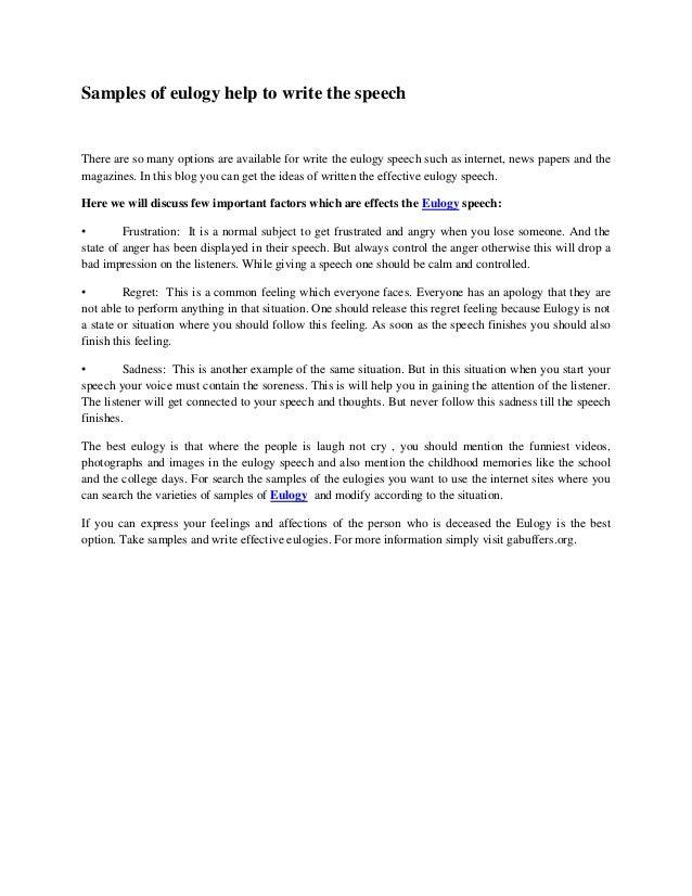 Help write speech pdf
