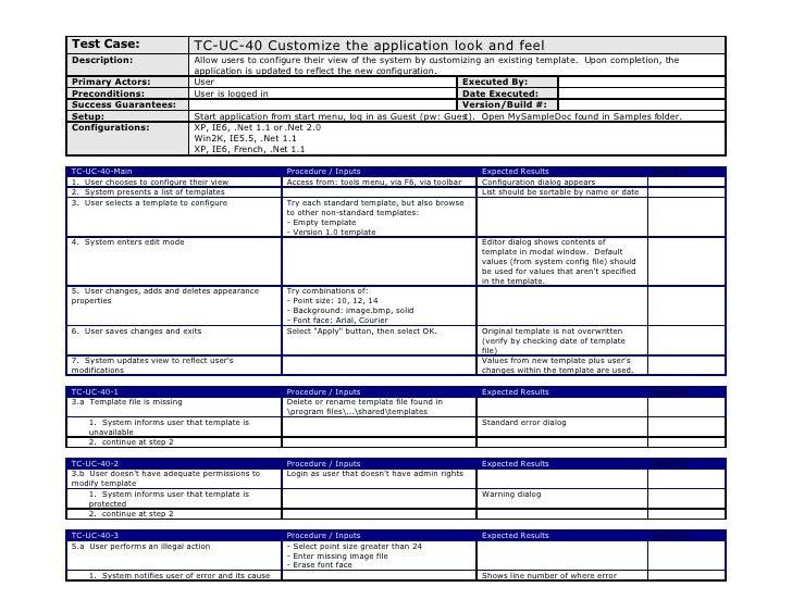 Test Plan (a Real Sample) U2013 Software Testing Help