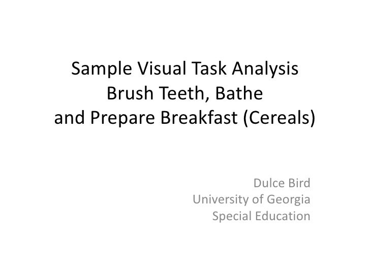 visual analysis thesis How to write a visual analysis thesis a complete set of academic support tools that will most definitely suit your individual needs well-educated writers and.
