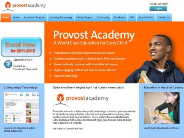 Sample website el_provost_hilevnav
