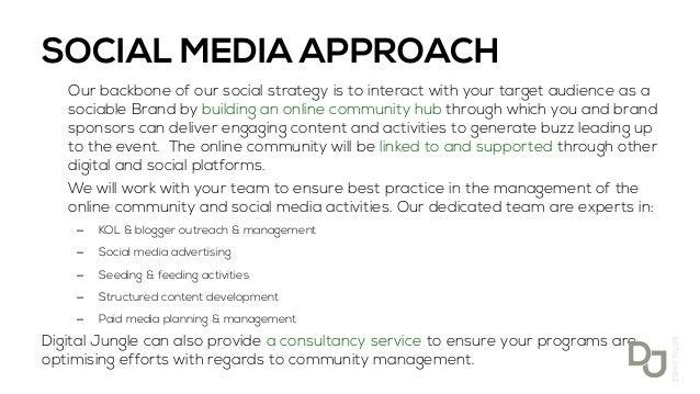 Search Marketing Jobs Nyc Social Media Proposal Sample Pdf