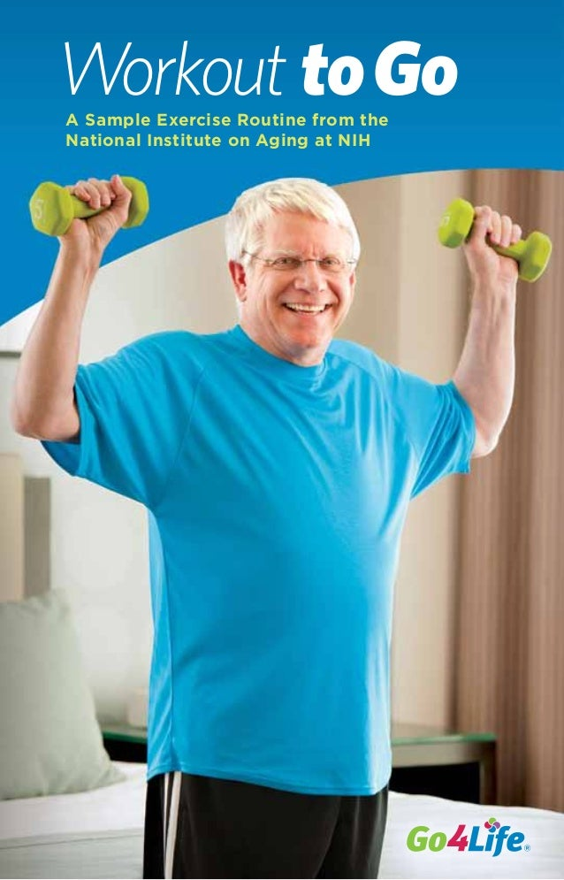 Workout toGoA Sample Exercise Routine from the National Institute on Aging at NIH