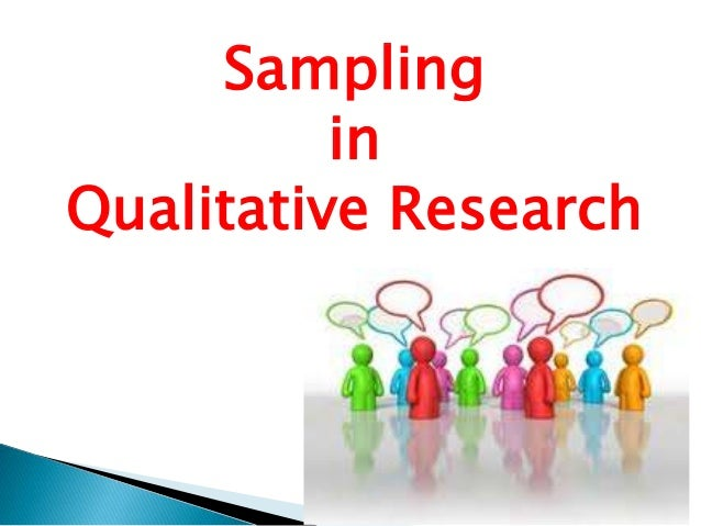 research sampling techniques