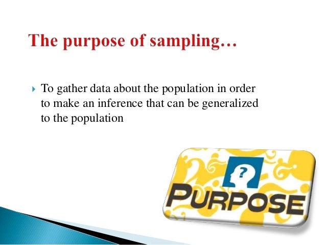 Sampling methods in market research