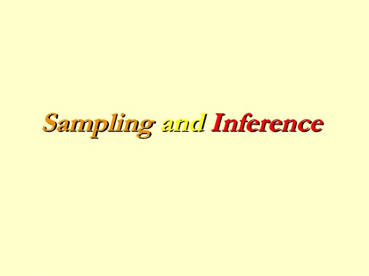 Sampling and Inference_Political_Science