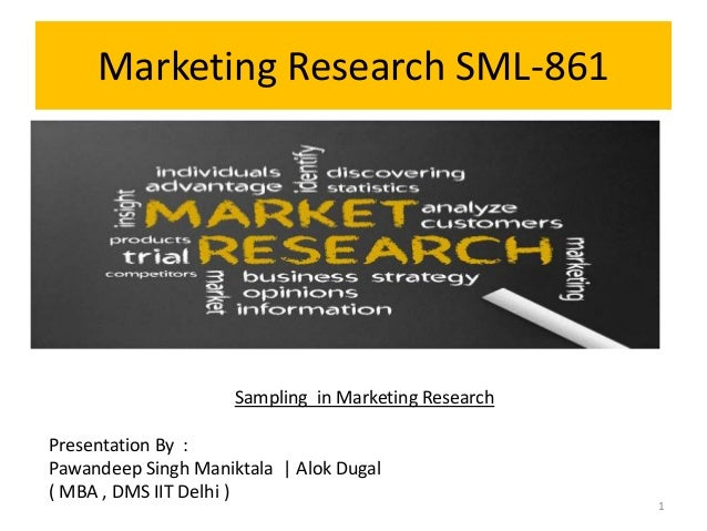 Marketing Research Paper Example
