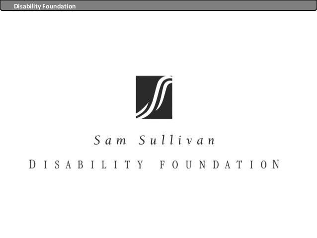 Disability Foundation                        Disability Foundation