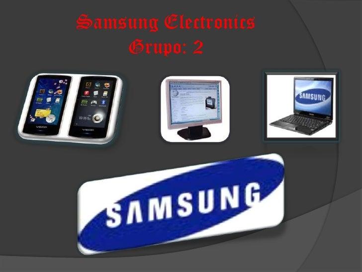 Samsung ElectronicsGrupo: 2<br />