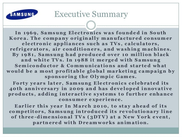 executive summar of samsung 3 executive summary  infineon technologies jasper ntt docomo nxp  semiconductors orange samsung electronics sierra wireless.