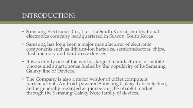 Samsung marketing mix essays