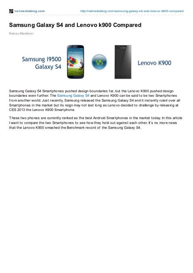 net mediablog.com http://netmediablog.com/samsung-galaxy-s4-and-lenovo-k900-comparedSamsung Galaxy S4 and Lenovo k900 Comp...