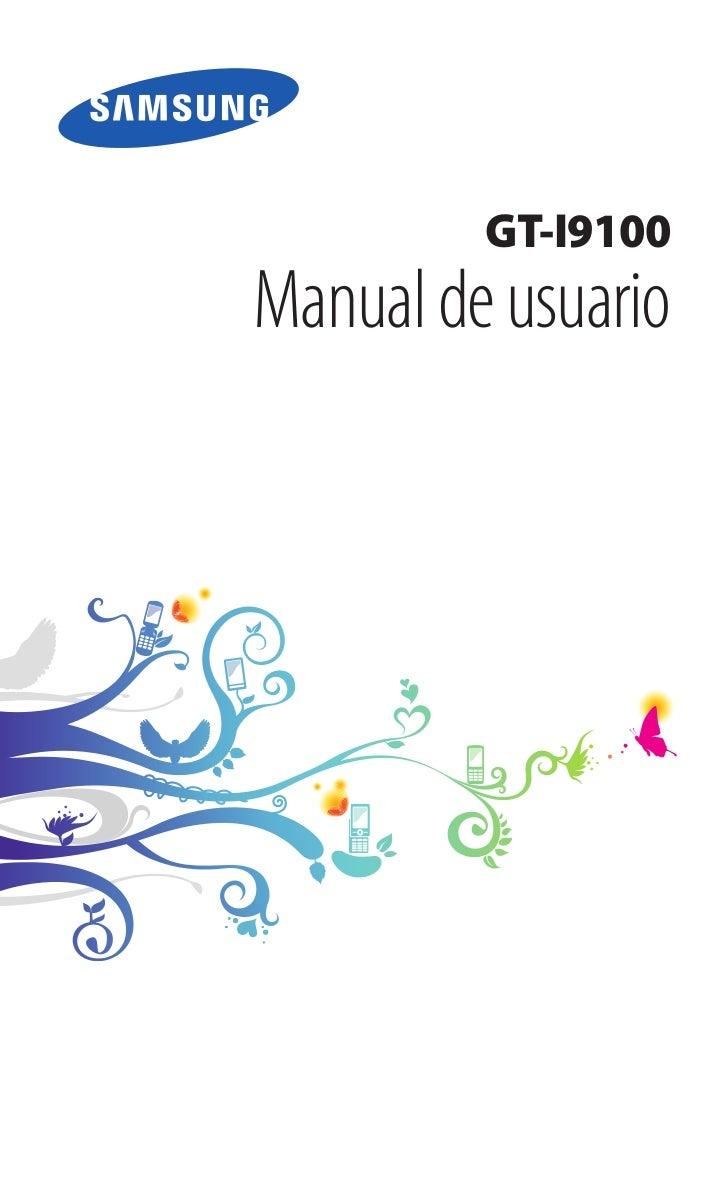 GT-I9100Manual de usuario