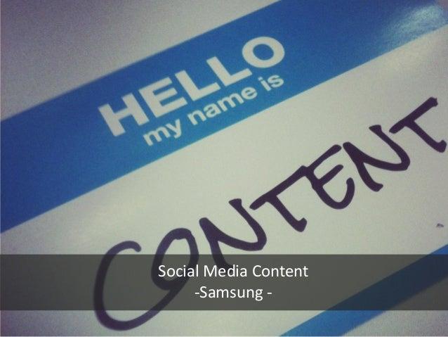 Samsung   snow camp
