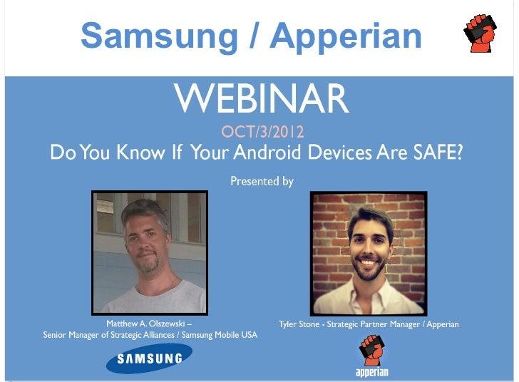 Samsung / Apperian