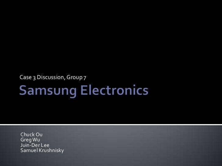 samsung electronics company essay Samsung history essays: home » essay » samsung history samsung electronic company samsung electronics samsung samsung samsung.