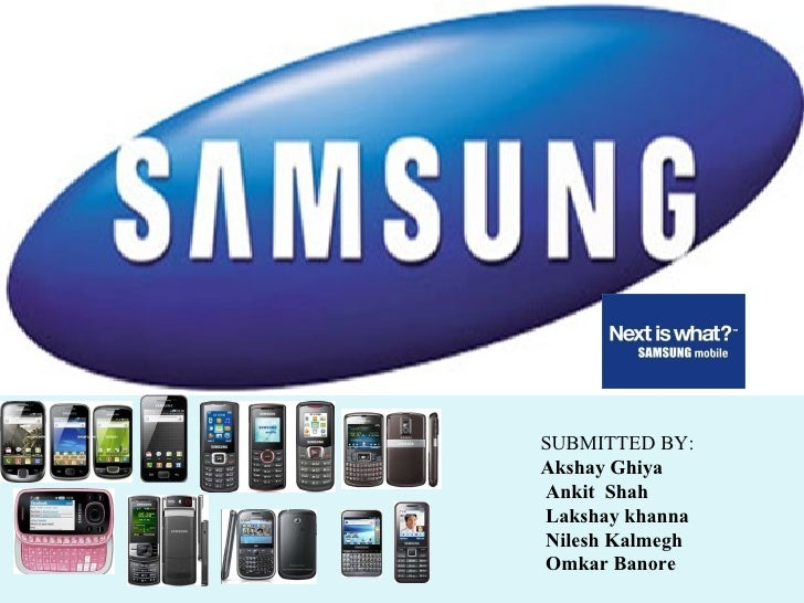 Samsung mobile ppt