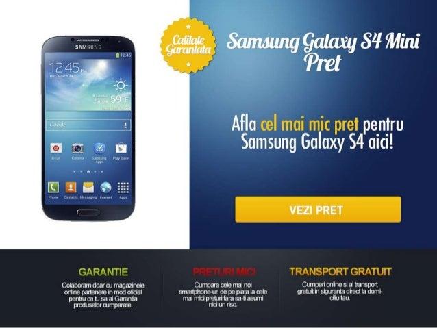 Samsung galaxy s4 mini pret