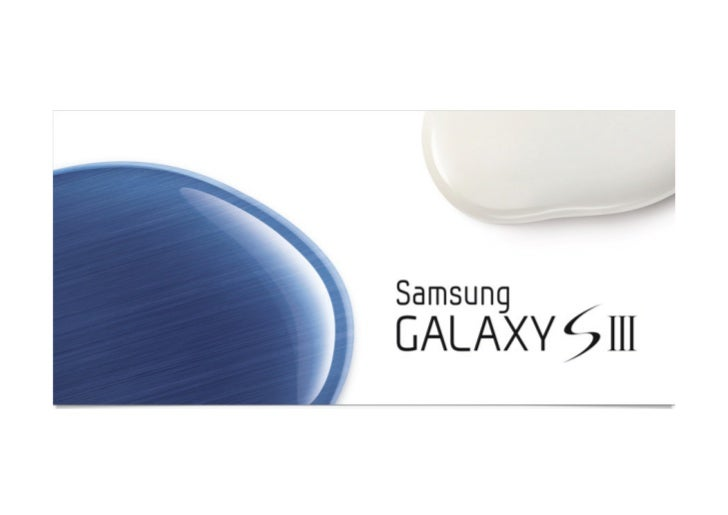 SAMSUNG Galaxy S III - Worldwide & T-Mobile
