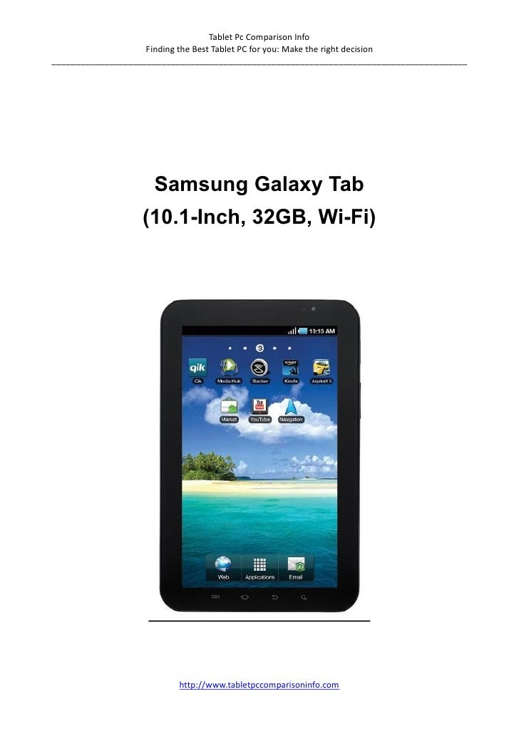 Samsung galaxy tablet review