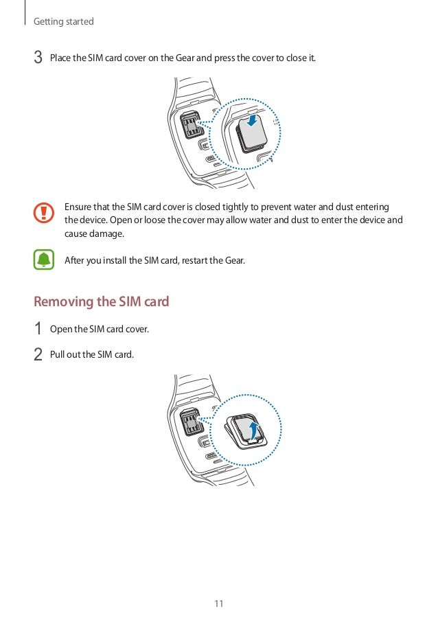 Samsung Gear S SM-R750 User Manual