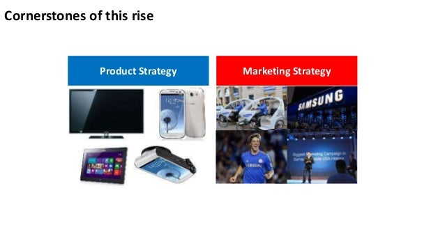 Diversification strategy of samsung