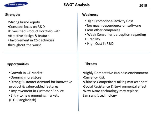 growth strategy analysis of samsung essay Apple inc swot analysis & recommendations apple competes with firms like samsung  apple's generic strategy & intensive growth strategies.
