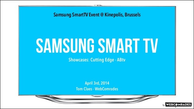 Samsung SmartTV - showcases by WebComrades