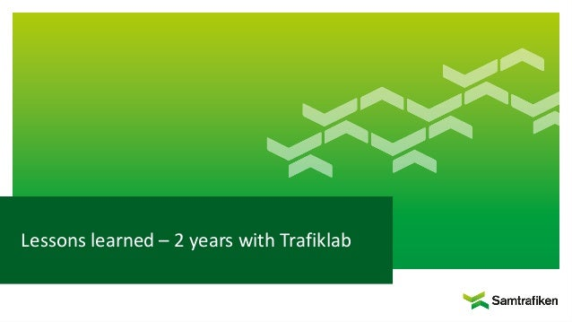 Lessons learned – 2 years with Trafiklab