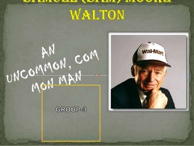 Sam Walton leadership & personality traits