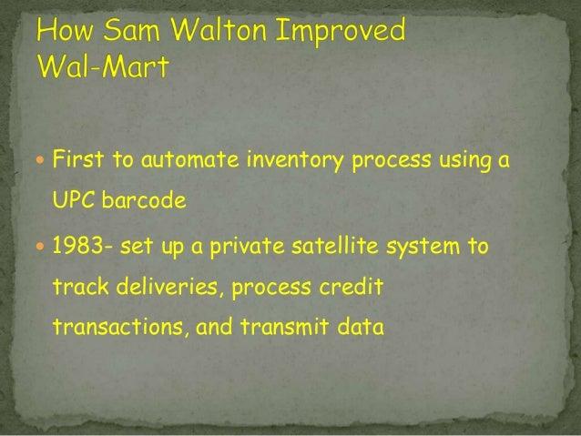 sam walton management style